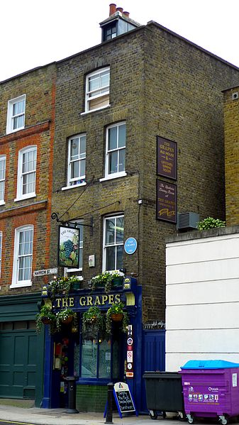 The Grapes, London. From London's 8 Most Unique Pubs