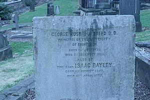 George Baird (minister) - grave of George Husband Baird, New Calton Cemetery