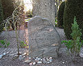 Grave of swedish professor per frostin lund sweden.jpg