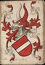 Grave van Vianden - Graaf van Vianden - Count of Vianden - Wapenboek Nassau-Vianden - KB 1900 A 016, folium 03r.jpg