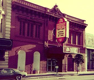 Great American Music Hall - The Great American Music Hall, 1976.