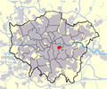 Greater london outline map bw locator map.png
