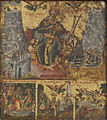 Greek - Saint Catherine of Alexandria with Three Scenes from Her Life - Walters 372753 - Detail.jpg