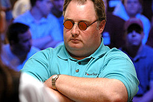 Greg Raymer in the 2005 World Series of Poker.