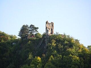 Grevenburg castle ruin