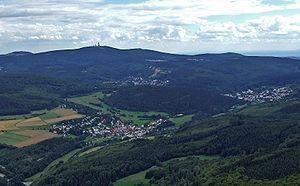 Taunus - The Hochtaunus with the Feldberg summit