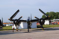 Grumman F7F-3P Tigercat Here Kitty Kitty BuNo 80390 NX700F HeadOn SNF 04April2014 (14399764859).jpg