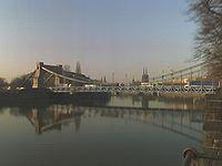Most Grunwaldzki, widok od strony Politechniki