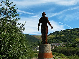 Six Bells - Guardian, overlooking Six Bells
