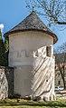 Gurk Domplatz SW-Wehrturm am Friedhof 11042016 1413.jpg