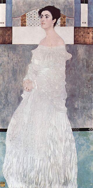 維根斯坦家族到底有多有錢呢?他的姐姐馬格列塔讓克林姆親自幫她畫肖像。