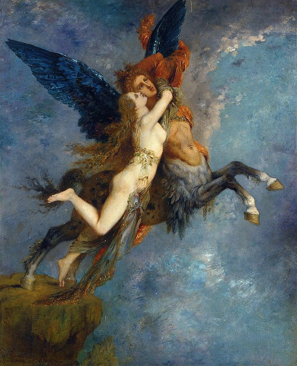 Gustave Moreau - La Chimère v1