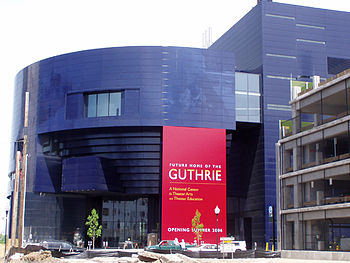 English: The new Guthrie Theater in Minneapolis