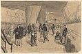 H.M.S. Euryalus Reception of friendly sheiks on board. Suez 2nd August 1882 RMG PY0983.jpg