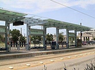 Ensemble/HCC - Image: HCC Ensemble Metro Rail Stop
