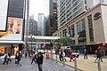 HK 中環 Central 遮打道 Chater Road 太子大廈 Prince's Building shop 香奈兒 Chanel 香港文華東方酒店 Mandrin Oriental Hotel footbridge Jan-2018 IX1.jpg