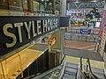 HK 銅鑼灣 CWB 柏寧酒店 The Park Lane Hotel night shopping mall Style House name sign Dec-2013.JPG