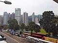 HK CWB 銅鑼灣 Causeway Bay 高士威道 Causeway Road traffic jam April 2021 SS2 01.jpg