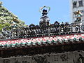 HK Kennedy Town Ching Lin Terrace 魯班先師廟 Lo Pan Temple roof decoration 08.JPG
