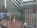 HK Tin Hau 176-178 Tung Lo Wan Road Kin Wah Mansion gate door bell button penal floors Apr-2014.JPG