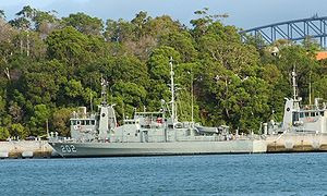 Sea Patrol - Image: HMAS Hammersley crop