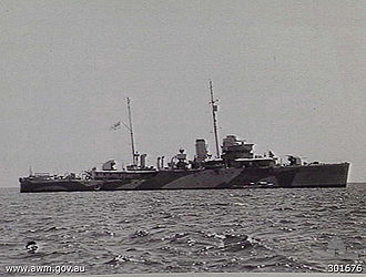 HMAS Warrego