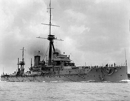 Dreadnought. Considered the first modern battleship, in 1906 it was fastest in the world due to Parsons' steam turbines. HMS Dreadnought 1906 H63596.jpg