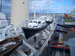 HMY-Britannia Moored in Leith.JPG