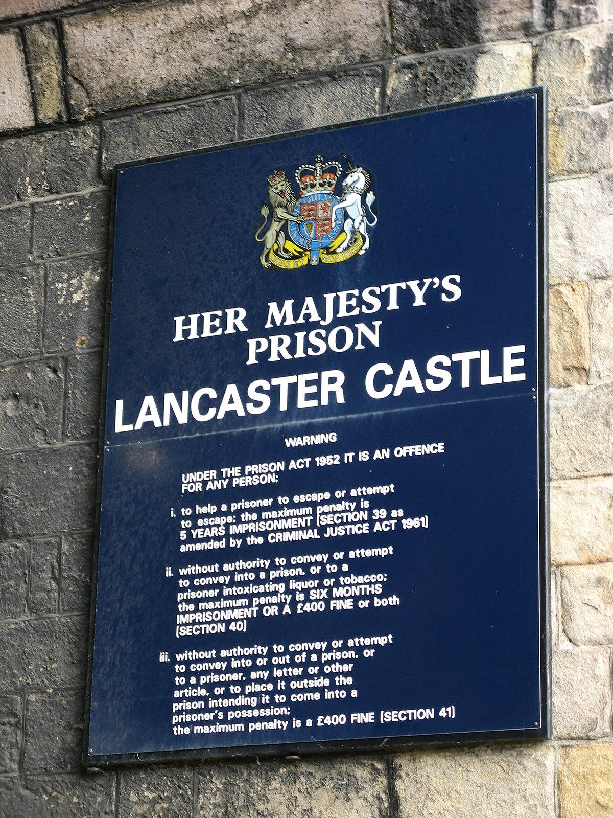 Hm Prison Lancaster