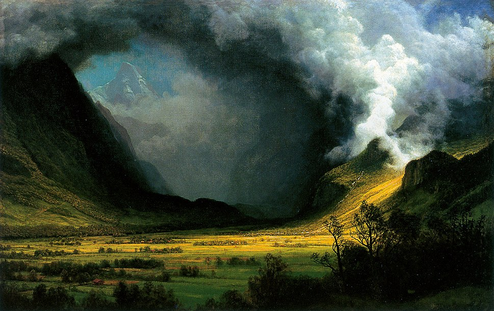HRSOA AlbertBierstadt-Storm in the Mountains