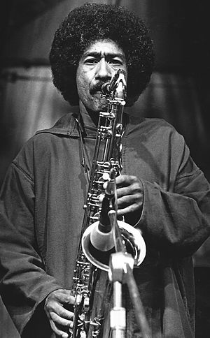 Hadley Caliman - Hadley Caliman with the Freddie Hubbard Quintet at the Pori Jazz Festival, Finland, 1978.