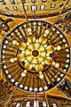 Hagia sophia dome painting september 2010.jpg