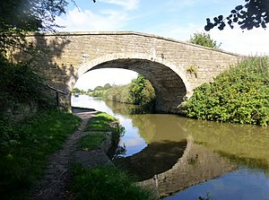 Listed buildings in Halsall - Image: Halsall Hill Bridge