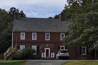 National Register of Historic Places listings in Mercer County, New Jersey - Image: Hamilton Twp NJ Abbott Decou House