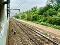 Hamsavaram railway station board.jpg