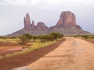 Mali - Landscape in Hombori