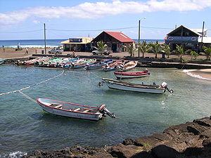 Hanga Roa - Harbour in Hanga Roa