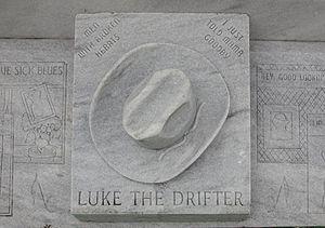 Death of Hank Williams - Hank Williams's tombstone