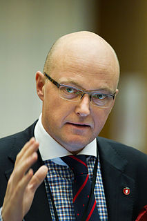 Hans Frode Asmyhr Norwegian politician