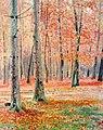Hans Kohnert. Herbstlicher Buchenwald (Ölgemälde, 1921).jpg