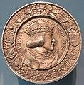Hans krafft, medaglia di carlo V, norimberga 1521.JPG