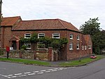 Harlaxton Post Office, near Grantham. This post office in a former cow barn reverted to residential use in 2006. PO services are now provided from the nearby village store.