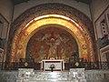 Hasparren (Pyr-Atl, Fr) Chapelle du Sacré-Coeur choir.JPG