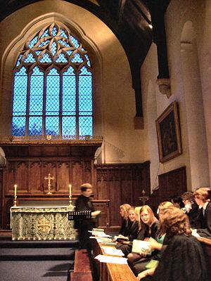 Hatfield College, Durham - College chapel