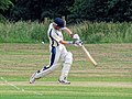 Hatfield Heath CC v. Takeley CC on Hatfield Heath village green, Essex, England 04.jpg