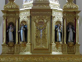 retable du maître-autel du couvent d'Unterlinden