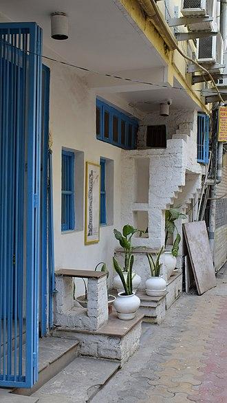 Hauz Khas - An art gallery in the Hauz Khas village.