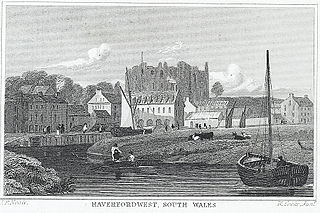 Haverfordwest, south Wales