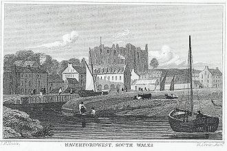 River Cleddau - The Western Cleddau at Haverfordwest