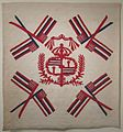 Hawaiian quilt, 'Ku'u Hae Aloha' (My Beloved Flag), 1938.JPG